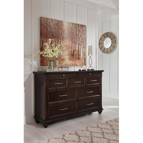 Brynhurst Dresser Dark Brown