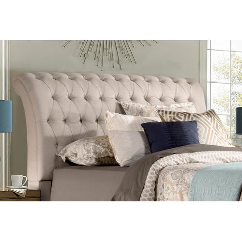 Richmond Queen Headboard, Linen Stone
