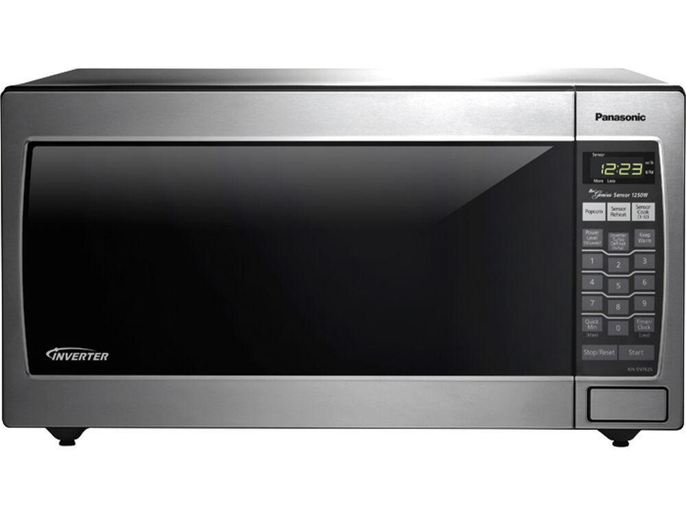 PanasonicFull-Size 1.6 Cu. Ft. Genius Countertop/built-In Microwave Oven With Inverter Technology, Stainless