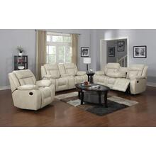 Hudson White Loveseat