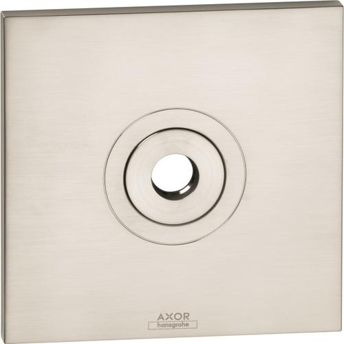 AXOR - Brushed Nickel Wall Plate Square