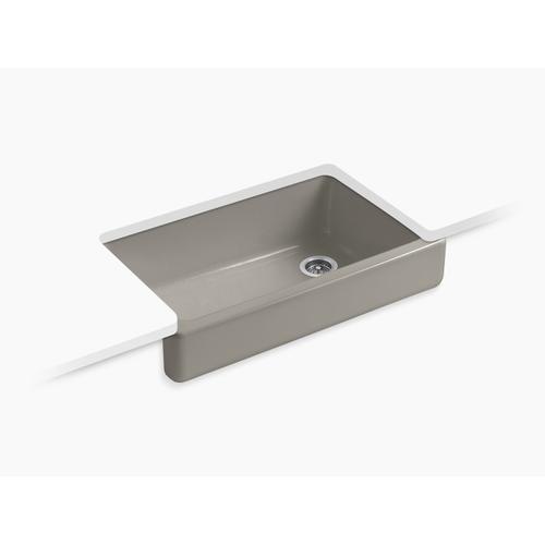"Cashmere 35-1/2"" X 21-9/16"" X 9-5/8"" Undermount Single-bowl Farmhouse Kitchen Sink"