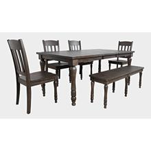 Madison County Dining Extension Table - Barnwood