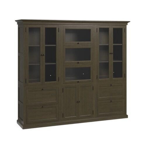 Bassett Furniture - Forsyth Triple Storage Wall
