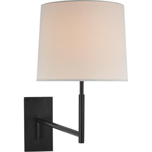 Barbara Barry Clarion LED 29 inch Bronze Articulating Sconce Wall Light, Medium