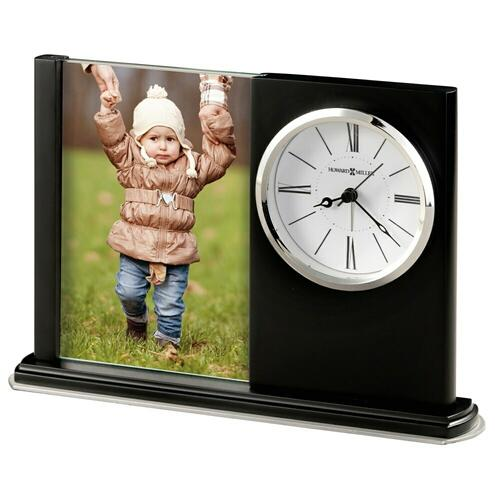 Howard Miller Portrait Caddy III Photo Frame Clock 645817