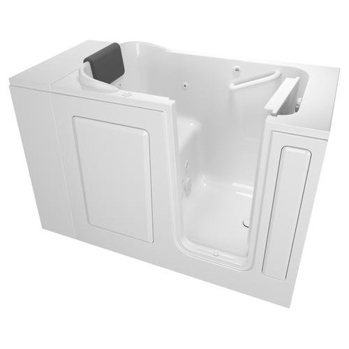 Gelcoat Premium Series 28x48-inch Walk-In Bathtub  Whirlpool Tub  American Standard - White