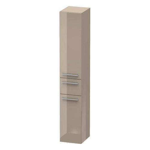 Duravit - Tall Cabinet, Cappuccino High Gloss (lacquer)