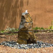 Segmented Boulder Fountain