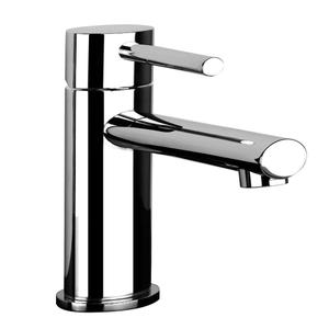 "Single lever washbasin mixer with pop-up assembly Spout projection 4-3/4"" Height 6"" Includes drain Max flow rate 1 Product Image"