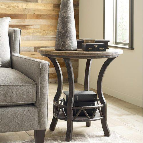 Trails Pisgah Round Lamp Table