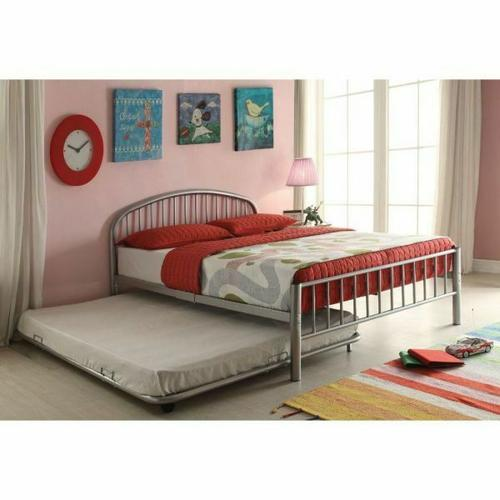 ACME Cailyn Trundle (Full) - 30468SI - Silver