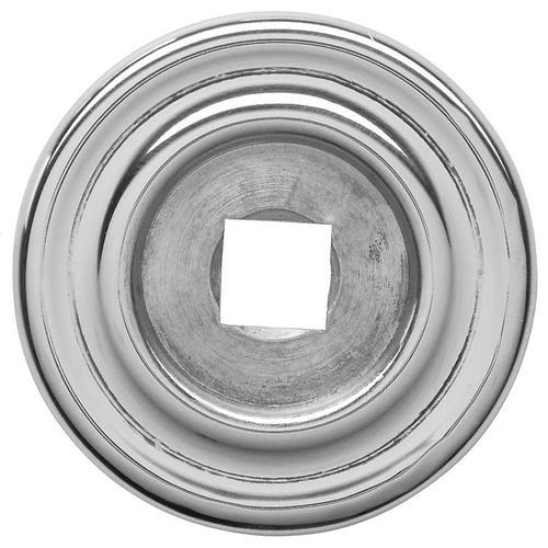 Baldwin - Polished Chrome Knob Back Plate