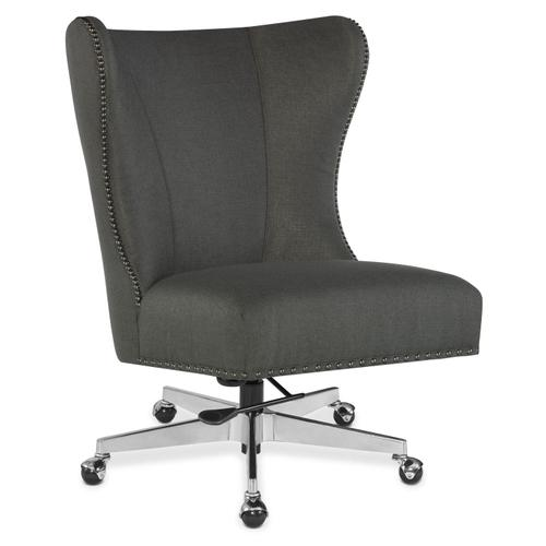 Home Office Juliet Executive Swivel Tilt Chair w/ Metal Base