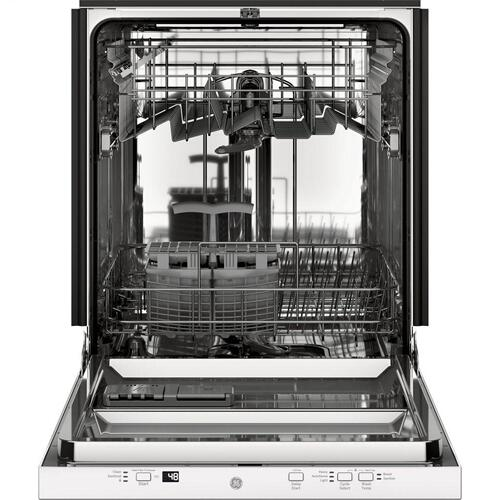 Product Image - GE® ADA Compliant Stainless Steel Interior Dishwasher with Sanitize Cycle