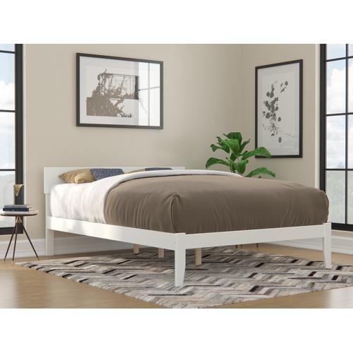 Atlantic Furniture - Boston Queen Bed in White
