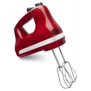 KitchenAid5-Speed Ultra Power™ Hand Mixer - Empire Red