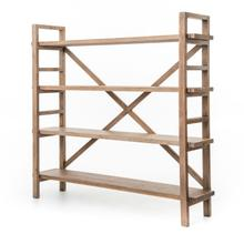 Sundried Wheat Finish Toscana Bookshelf