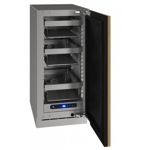 "U-Line - Hre515 15"" Refrigerator With Integrated Solid Finish (115 V/60 Hz Volts /60 Hz Hz)"