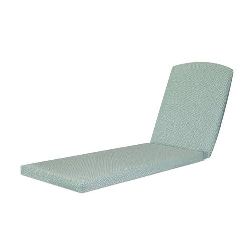"""Crete Opal Chaise Cushion - 77""""D x 21.25""""W x 2.5""""H"""