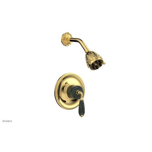 VALENCIA Pressure Balance Shower Set PB3338F - Polished Gold