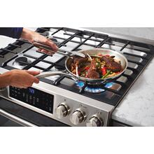 """See Details - 30"""" Gas Front Control Freestanding Range"""