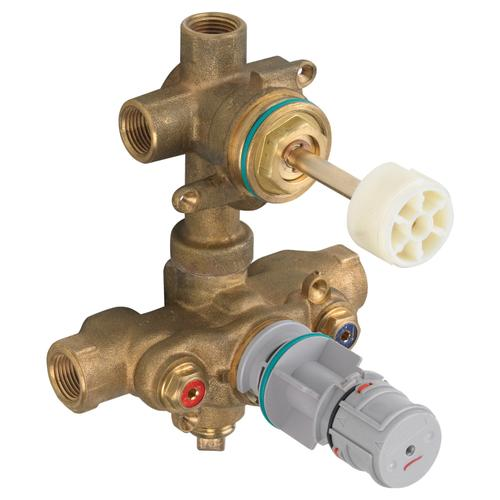 American Standard - Two-Handle Thermostatic Rough Valve with Built-In 2-Way Diverter (Discrete)  American Standard -
