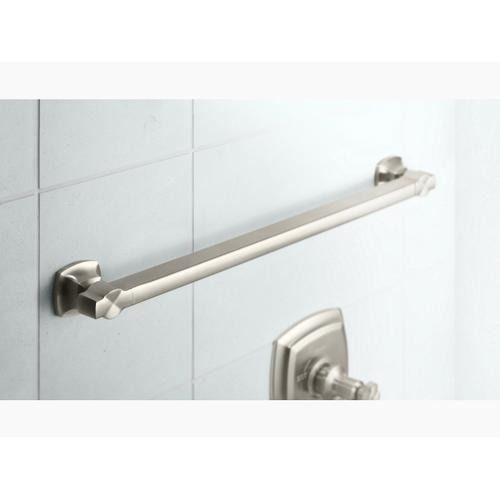 """Polished Stainless 24"""" Grab Bar"""