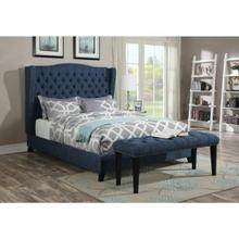 ACME Faye Queen Bed - 20880Q - Blue Linen
