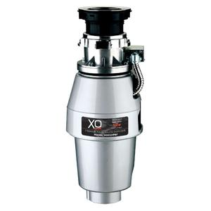Xo Appliances1/2 HP 5 Year Warranty, Batch Feed waste disposer