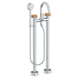 Floor Standing Bath Set With Volume Hand Shower Product Image