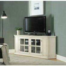 ACME Malka Corner TV Stand - 91365 - Antique White