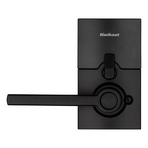 Kwikset - 917 SmartCode Electronic Halifax Lever - Matte Black