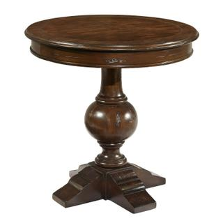 943706CP Charleston Place Round Lamp Table