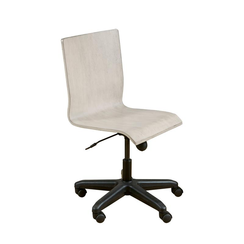 See Details - Riverwood Adjustable Desk Chair in White