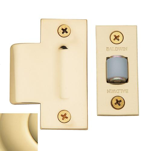 Baldwin - Non-Lacquered Brass Adjustable Roller Latch