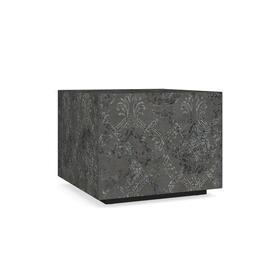 Antiquities Hugo Batik Cube Side Table