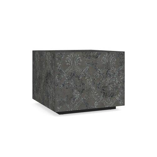 Antiquities Hugo Batik Cube Side Table
