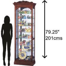 Product Image - Howard Miller Hastings Curio Cabinet 680342