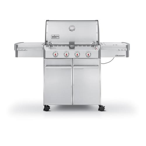 SUMMIT® S-420™ LP GAS GRILL - STAINLESS STEEL