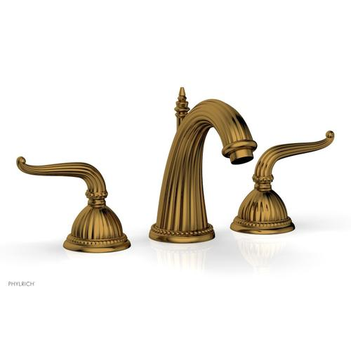 GEORGIAN & BARCELONA Widespread Faucet High Spout K360 - French Brass