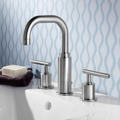 """American Standard - Serin 8"""" Widespread Faucet  High Arc  American Standard - Polished Chrome"""