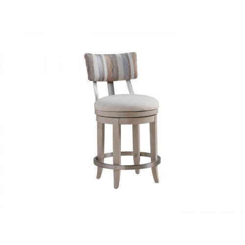 Cliffside Swivel Upholstered Counter Stool