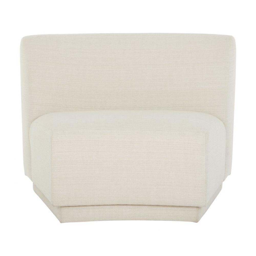 See Details - Yoon Slipper Chair Cream