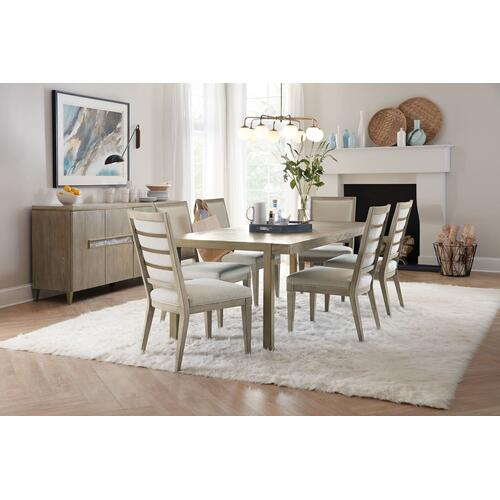 Dining Room Pacifica 78in Rectangle Dining Table w/2-18in Leaves