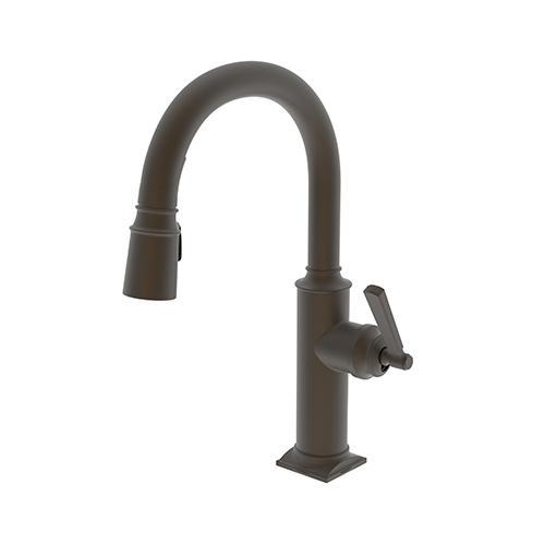 Newport Brass - Weathered Brass Prep/Bar Pull Down Faucet