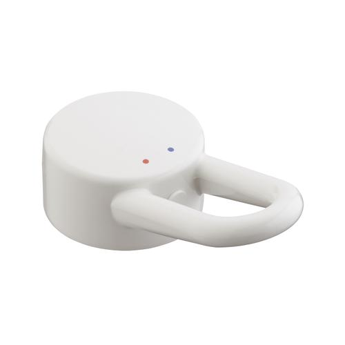 White Handle for AXOR Uno Color basin-, bidet- and kitchen mixer