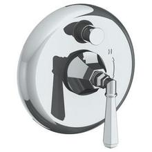 """Wall Mounted Pressure Balance Shower Trim With Diverter, 7 1/2"""""""