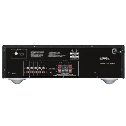 Yamaha - R-S202 BLACK Natural Sound Stereo Receiver
