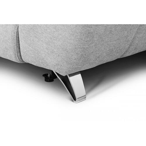 VIG Furniture - Divani Casa Paul - Contemporary Grey Fabric 4-Seater Sofa w/ Electric Recliners